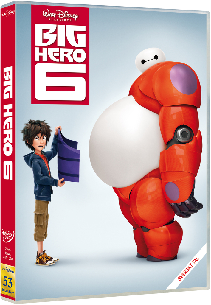 Big Hero 6 från Disney på DVD