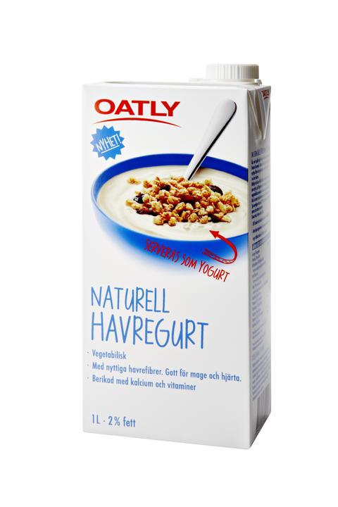 mjölkfri yoghurt oatly