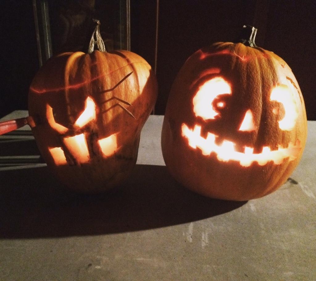 Missa inte vårt väldigt välbesökta Halloweentema som växer för varje år!  Här har ni ännu mer inspiration om hur man kan göra riktigt läskiga pumpor. d7ae207cac1a3